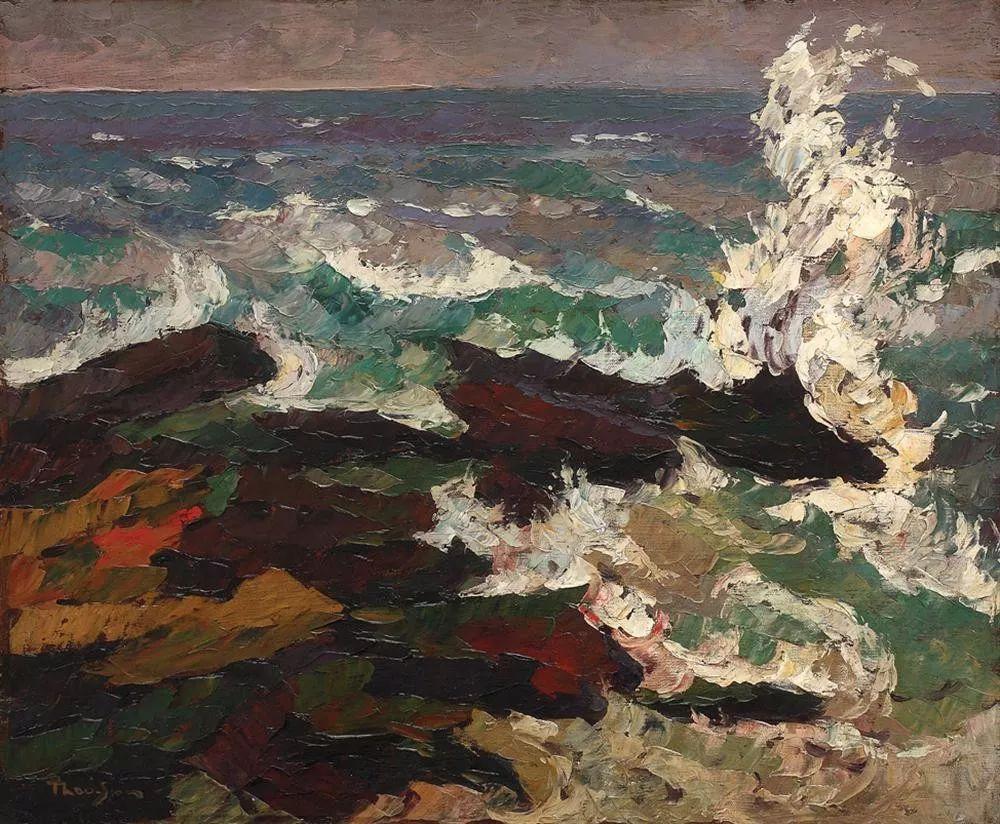 他集多个画派于一身,以对现代综合派艺术贡献而闻名插图28