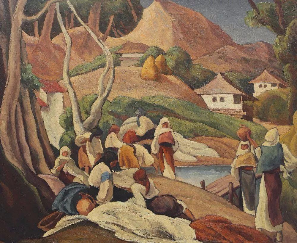 他集多个画派于一身,以对现代综合派艺术贡献而闻名插图33