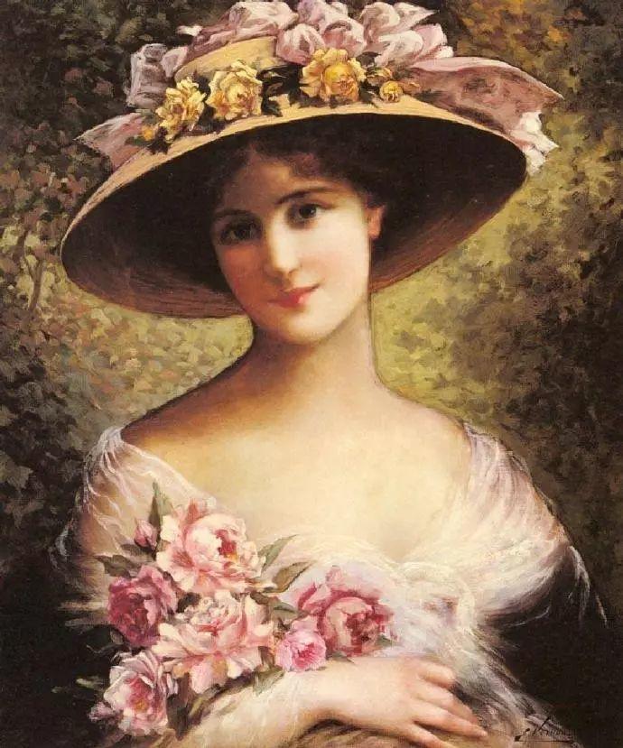 微胖的女人最美,法国画家埃米尔·弗农插图11