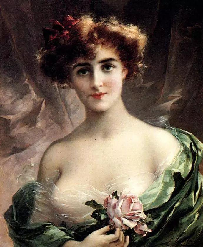 微胖的女人最美,法国画家埃米尔·弗农插图12