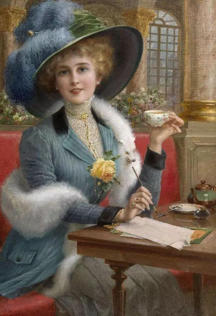 微胖的女人最美,法国画家埃米尔·弗农插图14