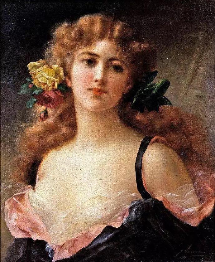 微胖的女人最美,法国画家埃米尔·弗农插图15