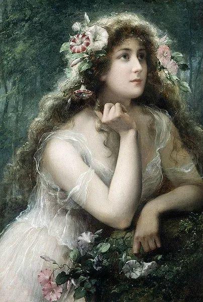 微胖的女人最美,法国画家埃米尔·弗农插图19
