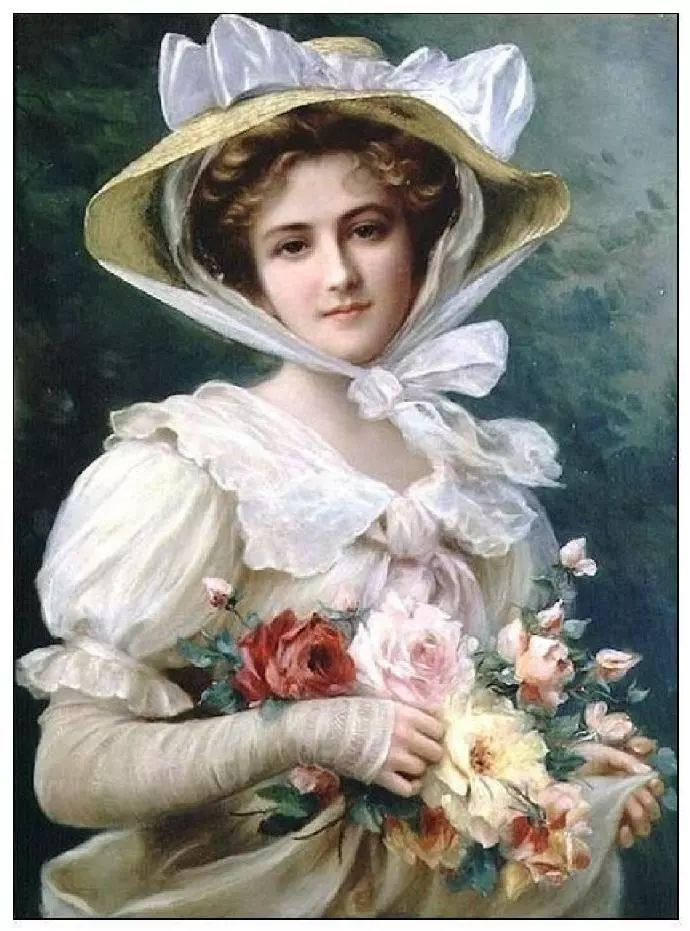 微胖的女人最美,法国画家埃米尔·弗农插图20