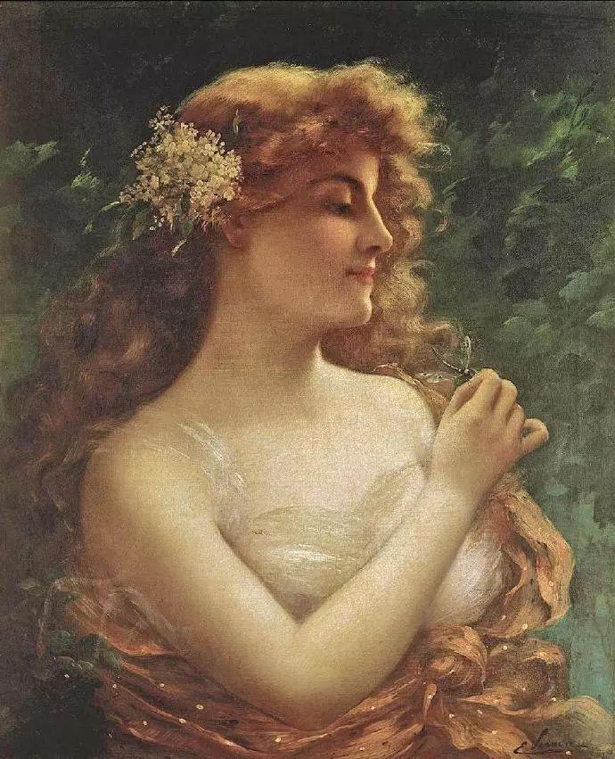 微胖的女人最美,法国画家埃米尔·弗农插图22