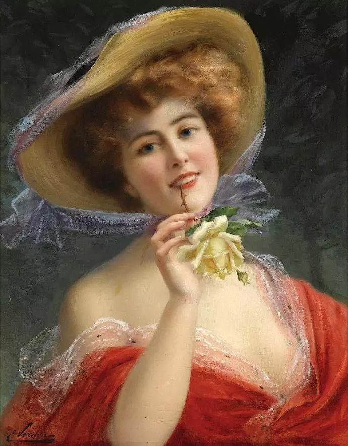 微胖的女人最美,法国画家埃米尔·弗农插图25