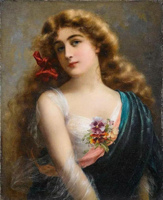 微胖的女人最美,法国画家埃米尔·弗农插图26