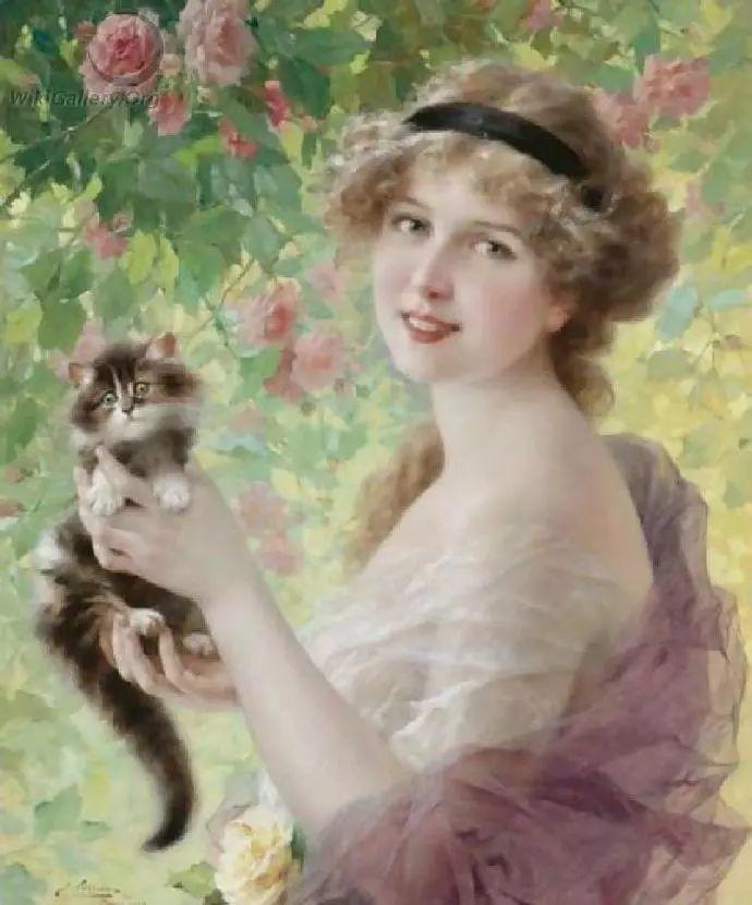 微胖的女人最美,法国画家埃米尔·弗农插图33