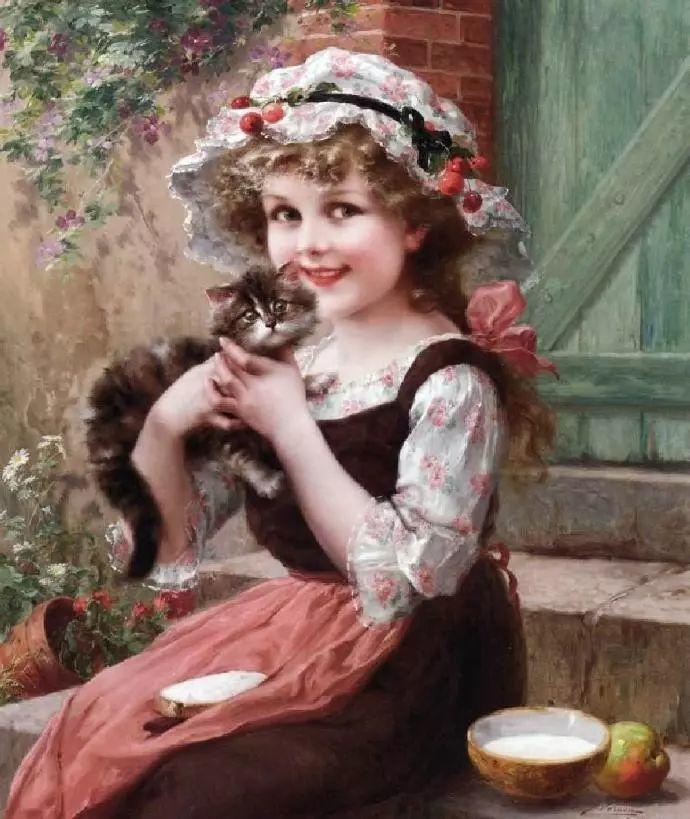 微胖的女人最美,法国画家埃米尔·弗农插图36