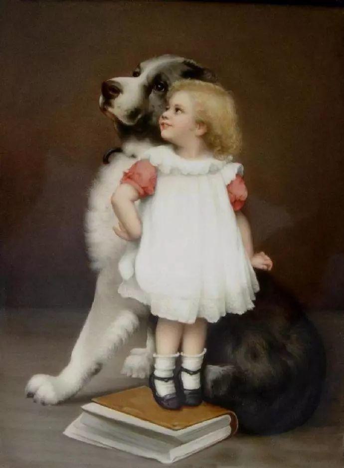 微胖的女人最美,法国画家埃米尔·弗农插图38