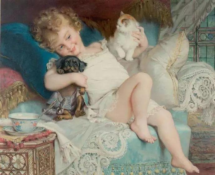 微胖的女人最美,法国画家埃米尔·弗农插图40