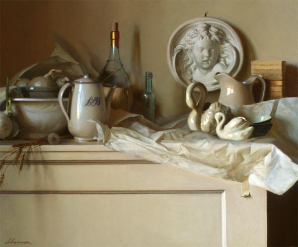 生活油画,美国杰弗里·拉尔森插图9