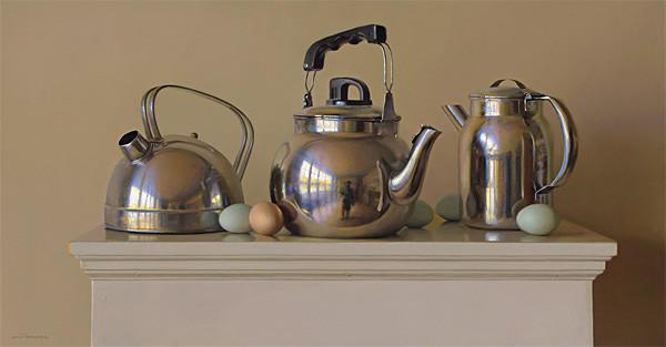 生活油画,美国杰弗里·拉尔森插图15