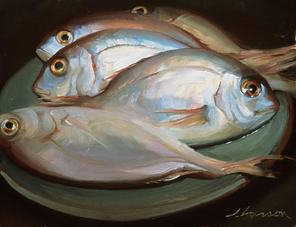 生活油画,美国杰弗里·拉尔森插图21