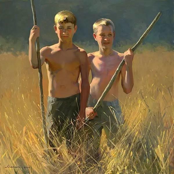 生活油画,美国杰弗里·拉尔森插图25