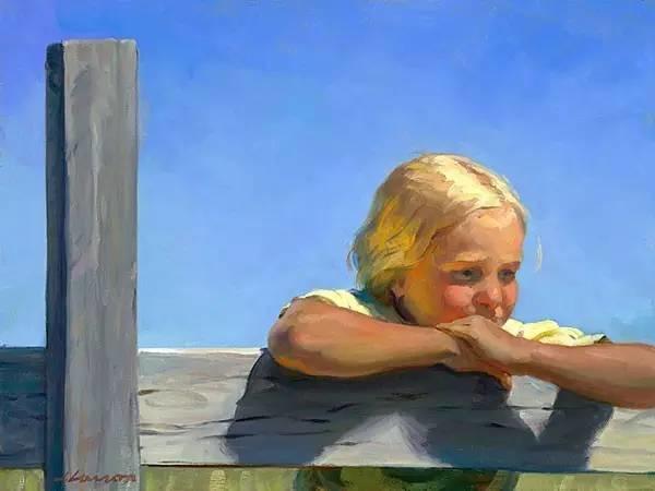 生活油画,美国杰弗里·拉尔森插图26