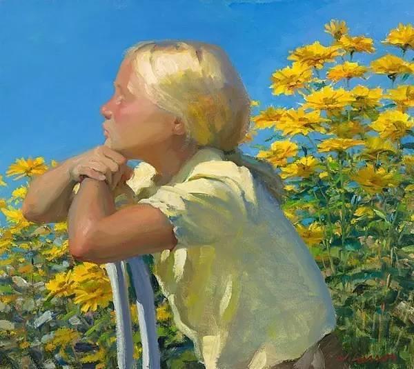 生活油画,美国杰弗里·拉尔森插图28