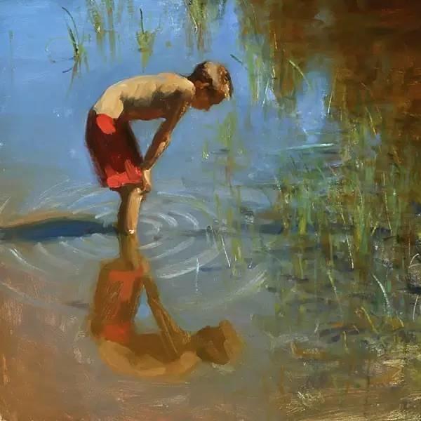 生活油画,美国杰弗里·拉尔森插图30