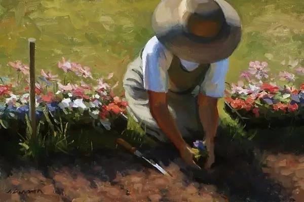 生活油画,美国杰弗里·拉尔森插图31