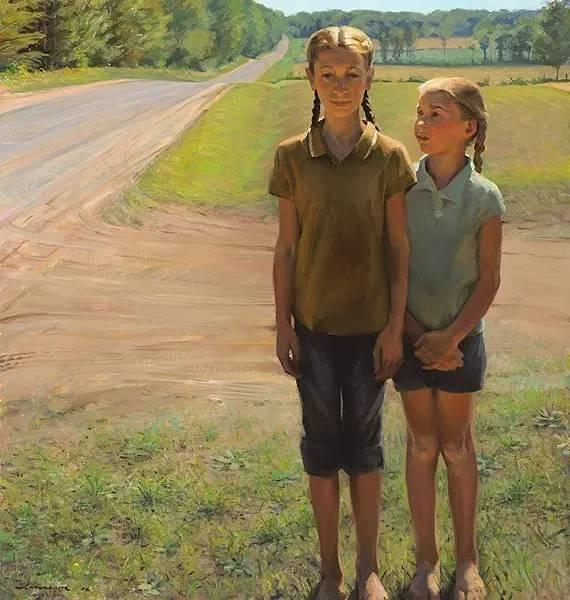 生活油画,美国杰弗里·拉尔森插图33
