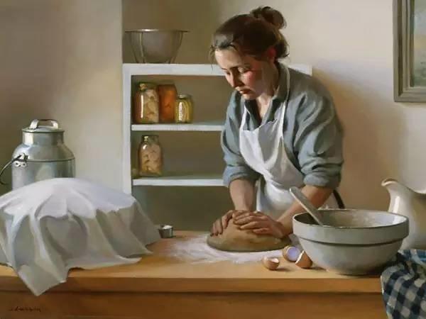 生活油画,美国杰弗里·拉尔森插图36