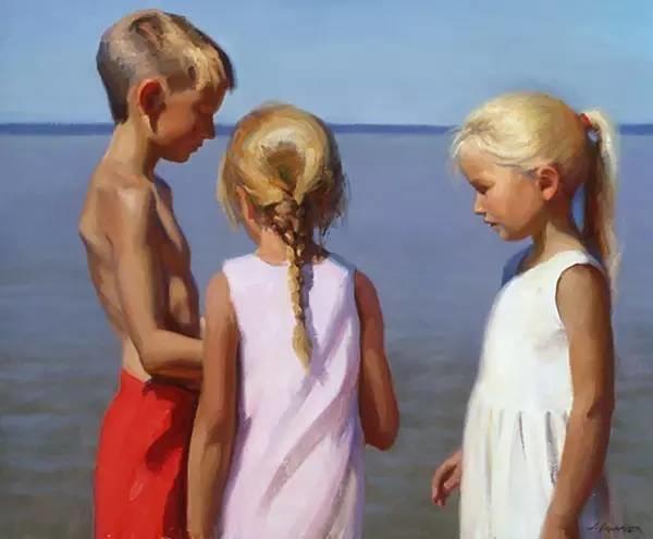 生活油画,美国杰弗里·拉尔森插图37