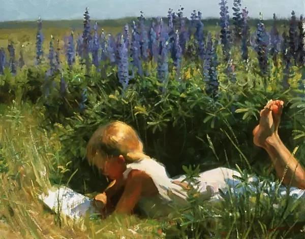 生活油画,美国杰弗里·拉尔森插图39