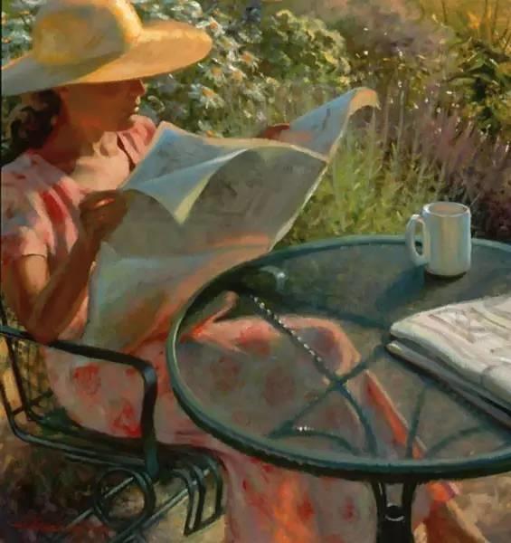 生活油画,美国杰弗里·拉尔森插图40