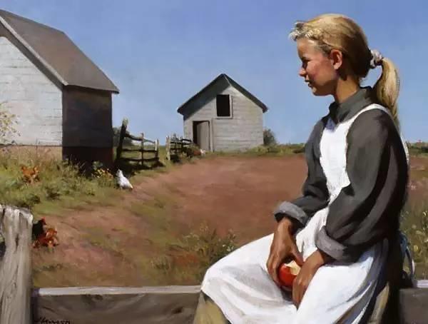 生活油画,美国杰弗里·拉尔森插图41