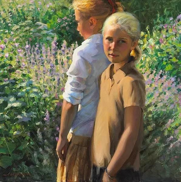 生活油画,美国杰弗里·拉尔森插图43