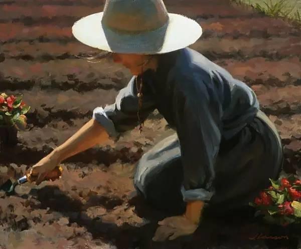 生活油画,美国杰弗里·拉尔森插图44