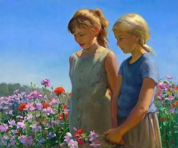 生活油画,美国杰弗里·拉尔森插图49