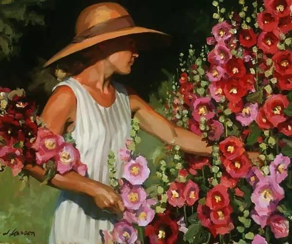 生活油画,美国杰弗里·拉尔森插图50