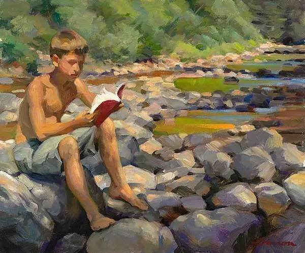 生活油画,美国杰弗里·拉尔森插图51