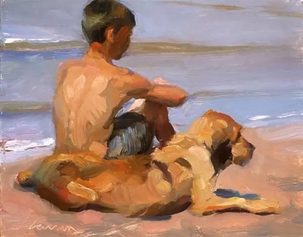 生活油画,美国杰弗里·拉尔森插图56