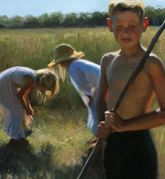 生活油画,美国杰弗里·拉尔森插图63