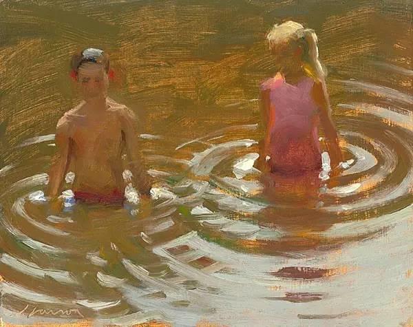 生活油画,美国杰弗里·拉尔森插图64