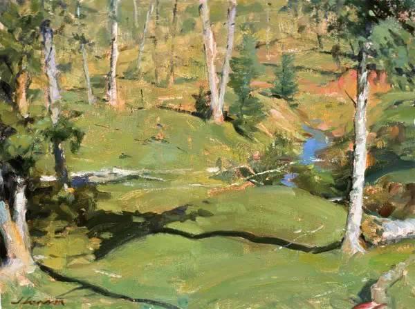 生活油画,美国杰弗里·拉尔森插图69