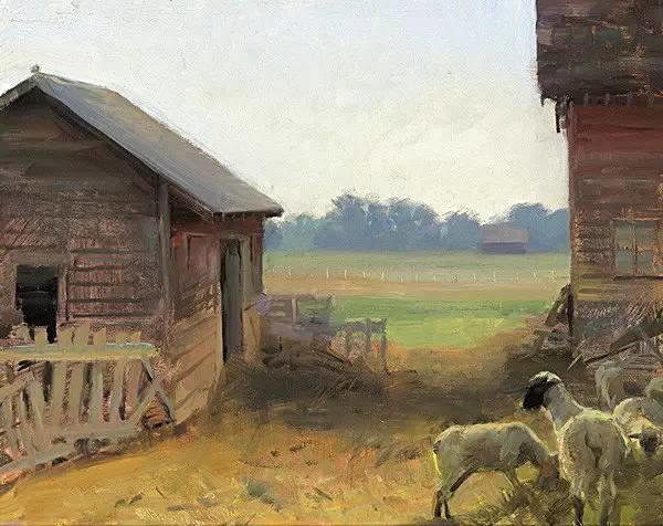 生活油画,美国杰弗里·拉尔森插图77