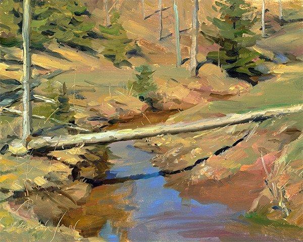 生活油画,美国杰弗里·拉尔森插图79