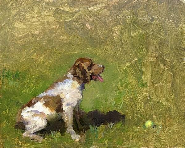 生活油画,美国杰弗里·拉尔森插图91