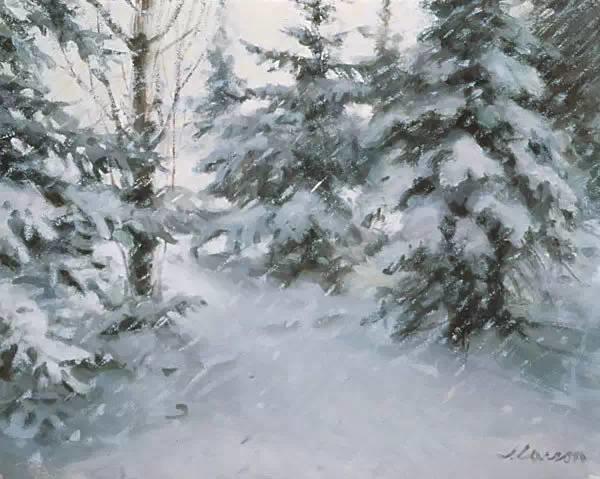 生活油画,美国杰弗里·拉尔森插图99