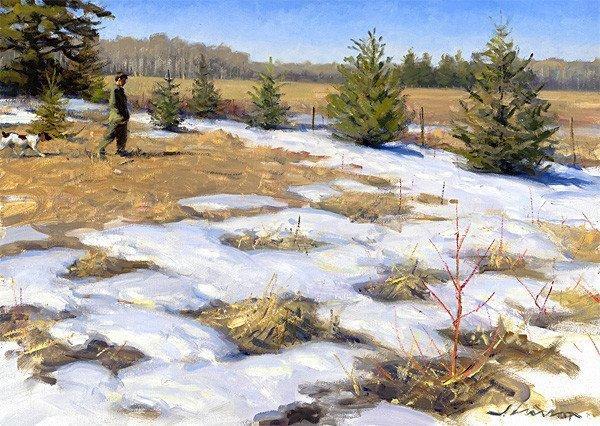生活油画,美国杰弗里·拉尔森插图111