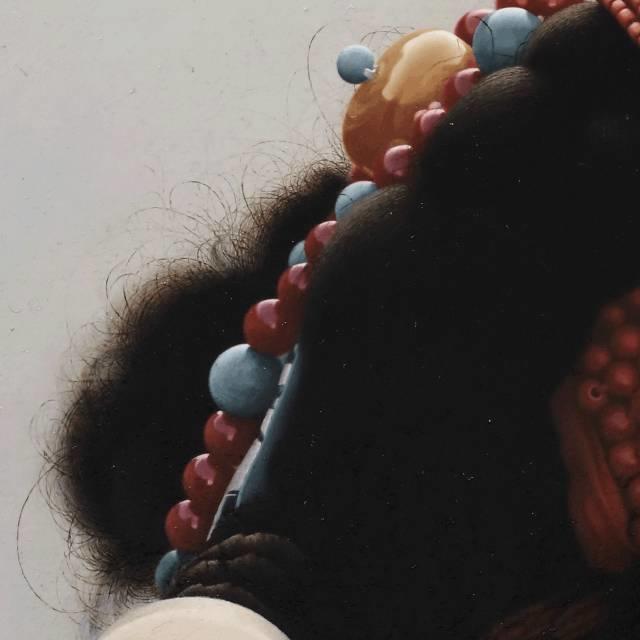 他一幅画,180天,1200颗珠子,每一颗都独一无二,让人心生敬畏!插图10