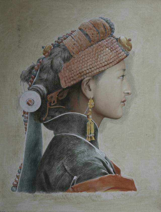 他一幅画,180天,1200颗珠子,每一颗都独一无二,让人心生敬畏!插图14