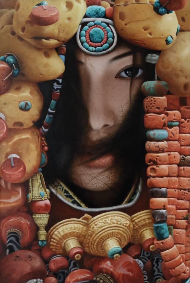 他一幅画,180天,1200颗珠子,每一颗都独一无二,让人心生敬畏!插图30