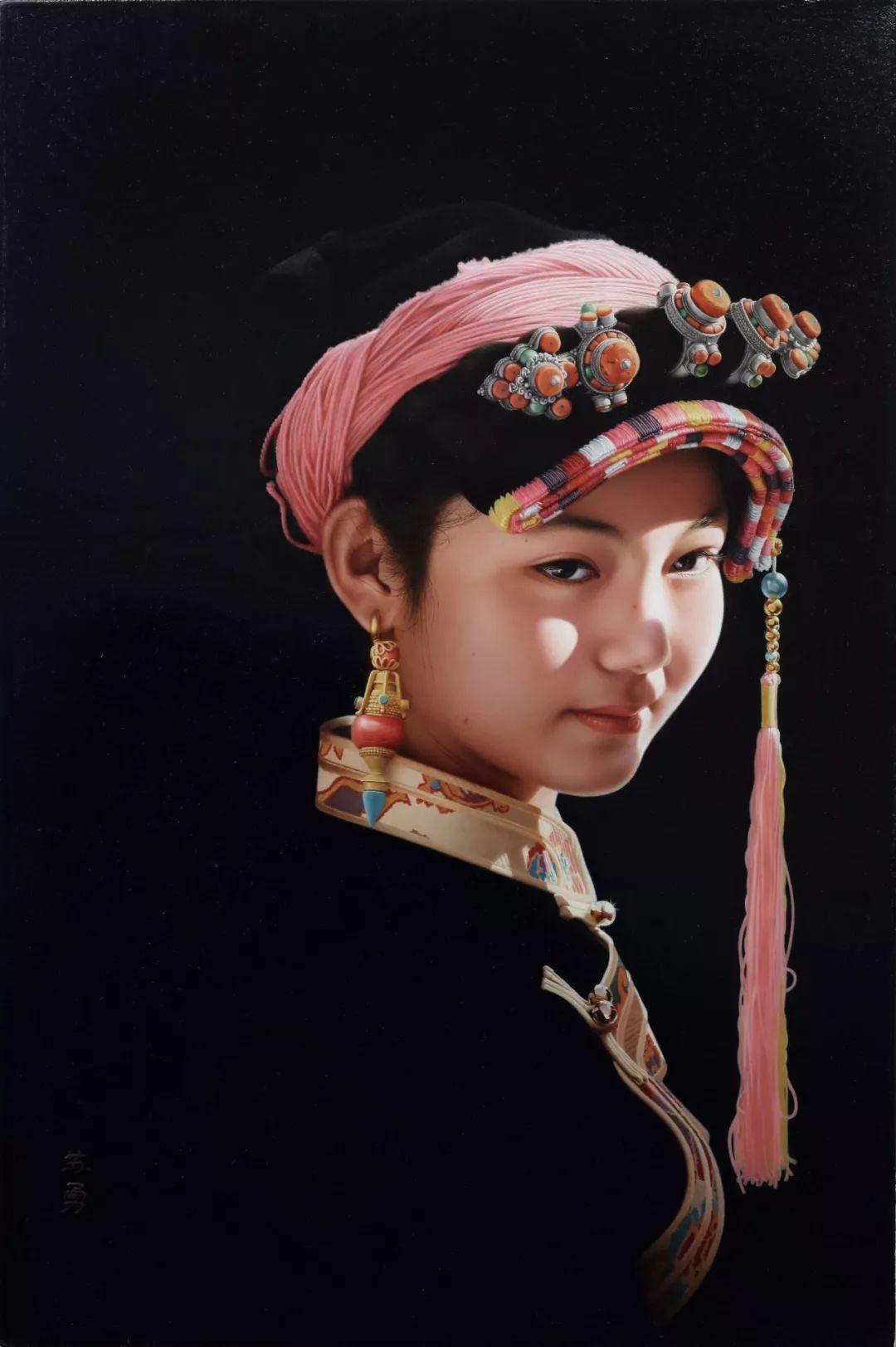 他一幅画,180天,1200颗珠子,每一颗都独一无二,让人心生敬畏!插图41
