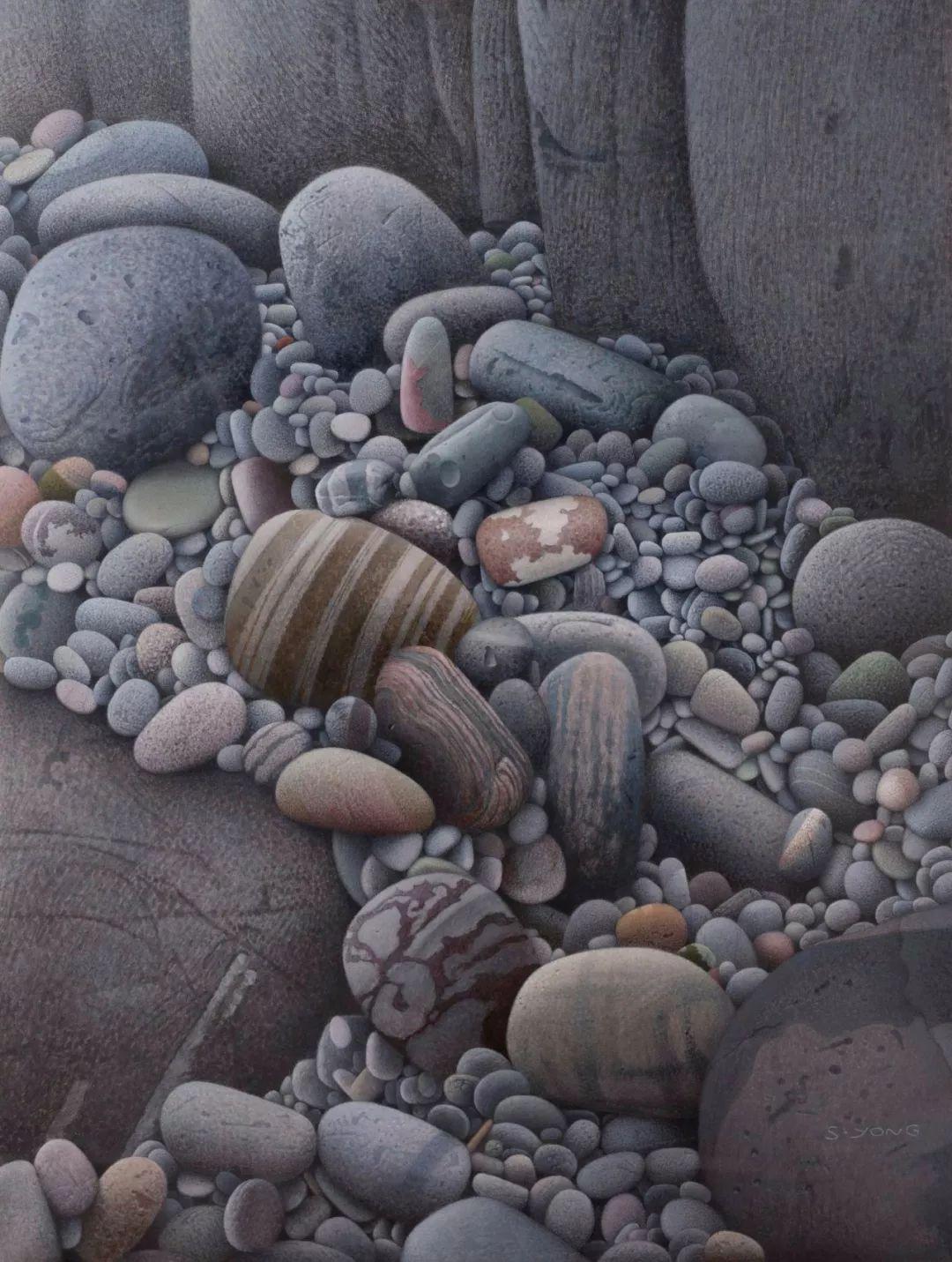 他一幅画,180天,1200颗珠子,每一颗都独一无二,让人心生敬畏!插图50