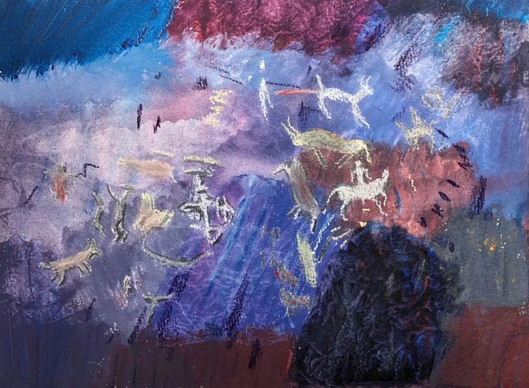 写意风格山野风景——王克举油画插图2