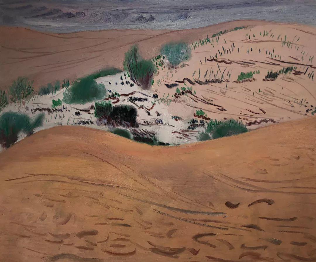写意风格山野风景——王克举油画插图7